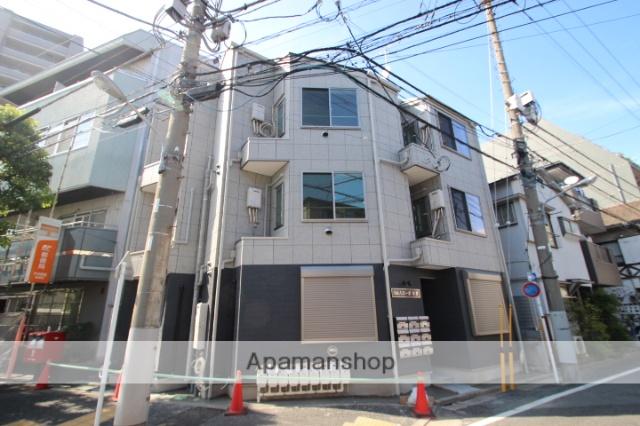 東京都江戸川区、平井駅徒歩3分の築1年 3階建の賃貸アパート