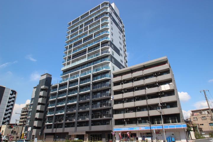 東京都江東区、平井駅徒歩19分の築1年 18階建の賃貸マンション