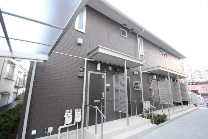 東京都葛飾区、新小岩駅徒歩17分の新築 2階建の賃貸アパート