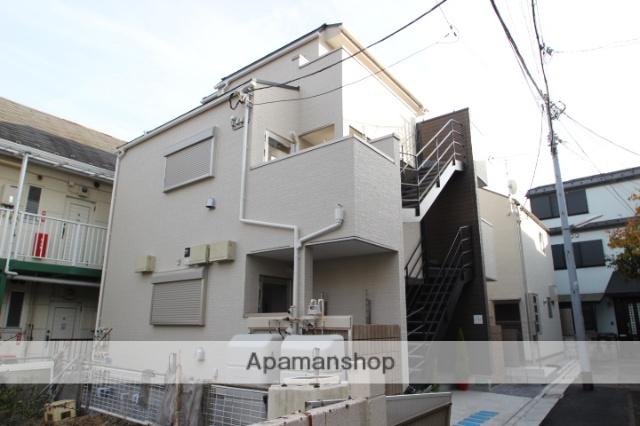 東京都葛飾区、平井駅徒歩24分の新築 3階建の賃貸アパート