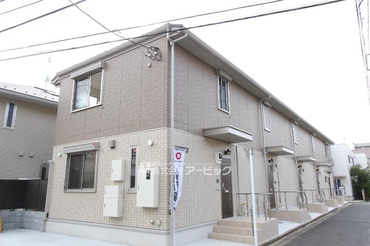 東京都江戸川区、小岩駅徒歩22分の新築 2階建の賃貸アパート