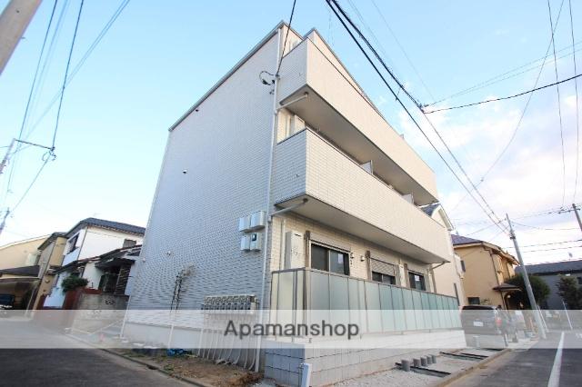 東京都江戸川区、新小岩駅徒歩26分の新築 3階建の賃貸アパート