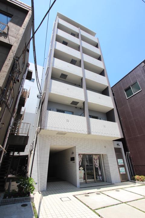 東京都墨田区、平井駅徒歩20分の築8年 7階建の賃貸マンション