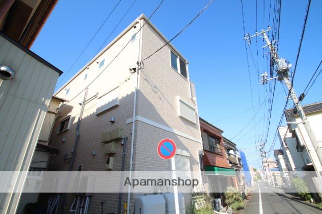 東京都江戸川区、新小岩駅徒歩16分の新築 2階建の賃貸アパート