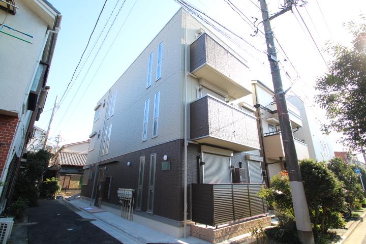 東京都江戸川区、平井駅徒歩30分の新築 3階建の賃貸アパート
