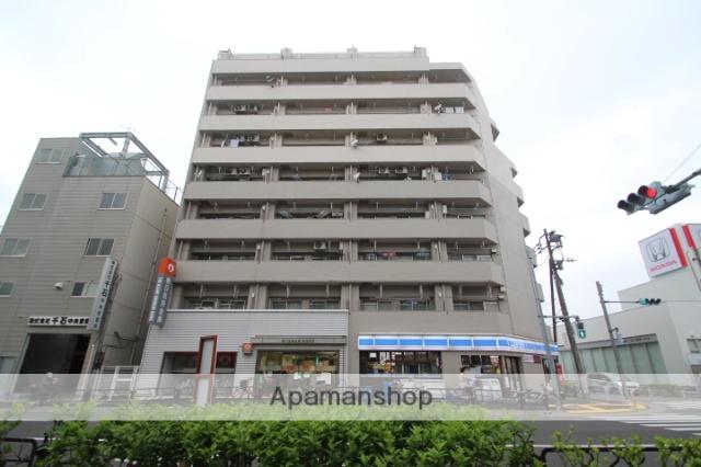 東京都江戸川区、新小岩駅徒歩24分の築43年 10階建の賃貸マンション