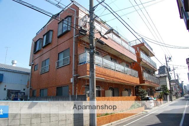 東京都江戸川区、平井駅徒歩5分の築44年 3階建の賃貸マンション