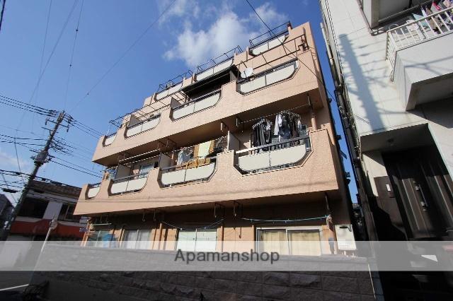 東京都江戸川区、平井駅徒歩9分の築44年 4階建の賃貸マンション