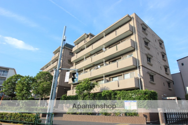 東京都江戸川区、平井駅徒歩14分の築17年 6階建の賃貸マンション