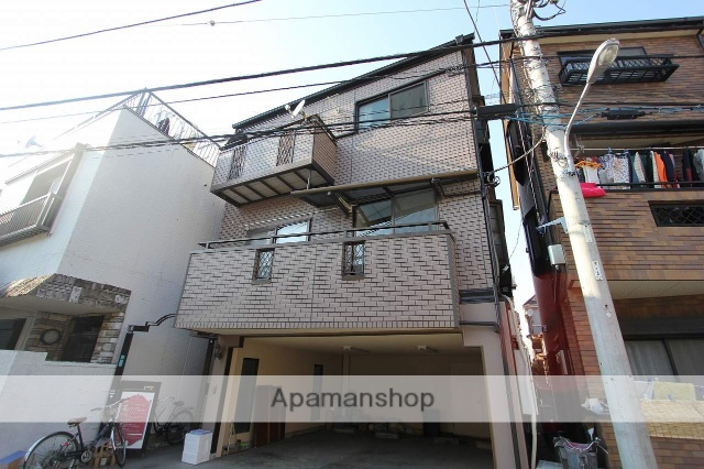 東京都江戸川区、平井駅徒歩12分の築20年 3階建の賃貸アパート