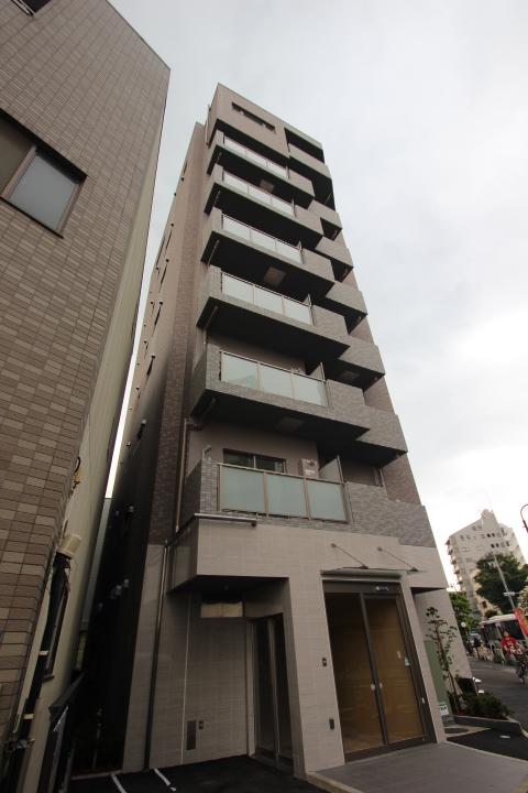 東京都墨田区、平井駅徒歩28分の築3年 8階建の賃貸マンション