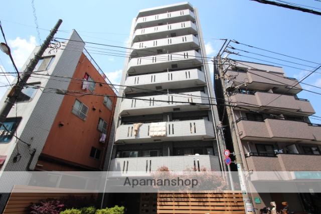 東京都墨田区、平井駅徒歩13分の築10年 9階建の賃貸マンション