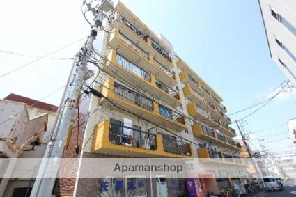 東京都江戸川区、平井駅徒歩13分の築32年 6階建の賃貸マンション