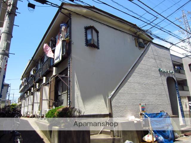 東京都江戸川区、西葛西駅徒歩16分の築33年 2階建の賃貸アパート