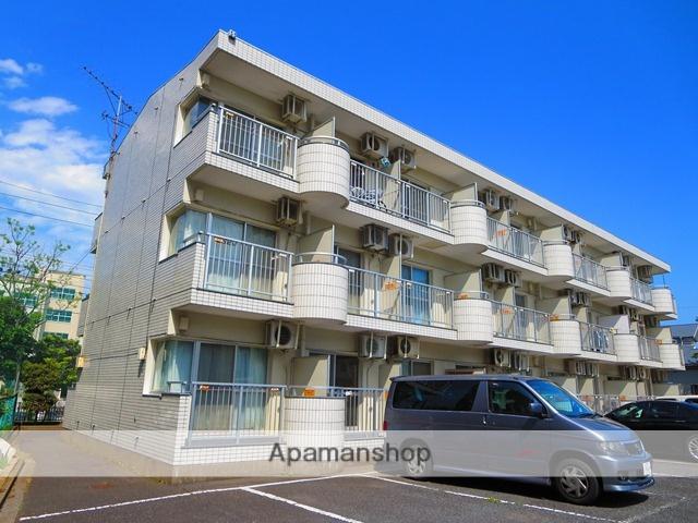 東京都江戸川区、西葛西駅徒歩27分の築28年 3階建の賃貸マンション