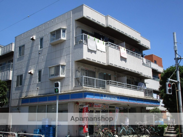 東京都江戸川区、西葛西駅徒歩13分の築30年 3階建の賃貸マンション