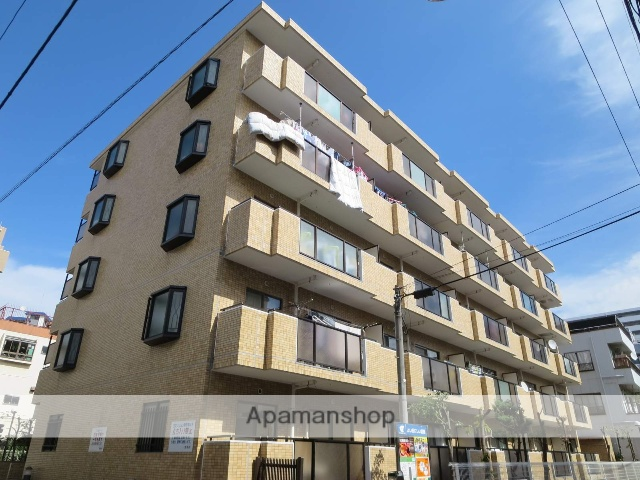 東京都江戸川区、西葛西駅徒歩5分の築26年 5階建の賃貸マンション