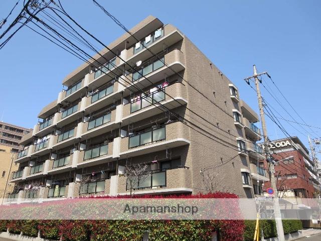 東京都江戸川区、西葛西駅徒歩9分の築20年 6階建の賃貸マンション