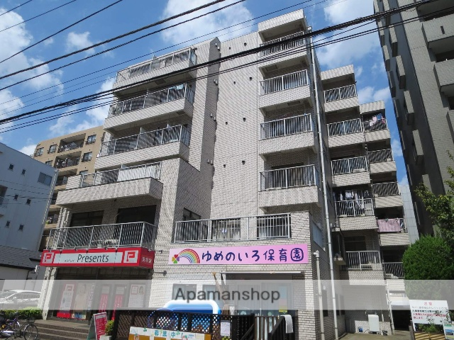 東京都江戸川区、西葛西駅徒歩18分の築32年 6階建の賃貸マンション