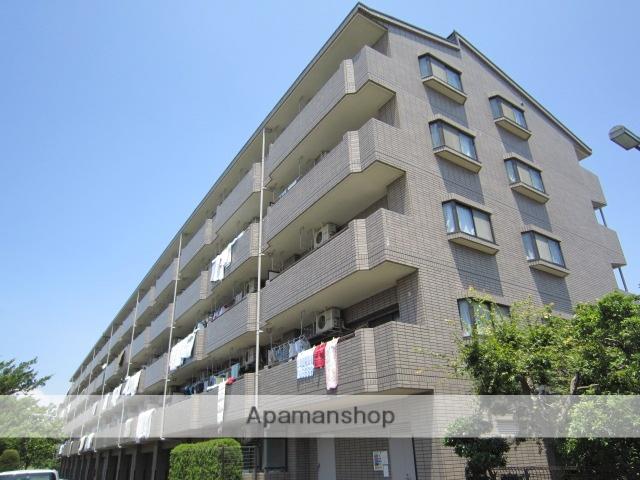 東京都江戸川区、西葛西駅徒歩16分の築24年 5階建の賃貸マンション