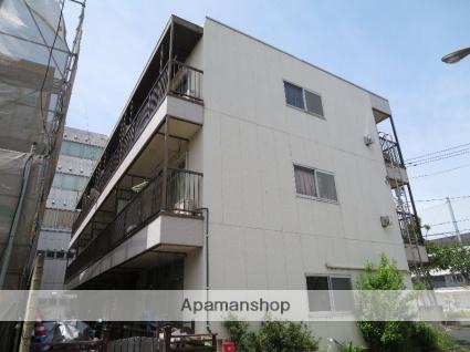 東京都江戸川区、西葛西駅徒歩25分の築35年 3階建の賃貸アパート