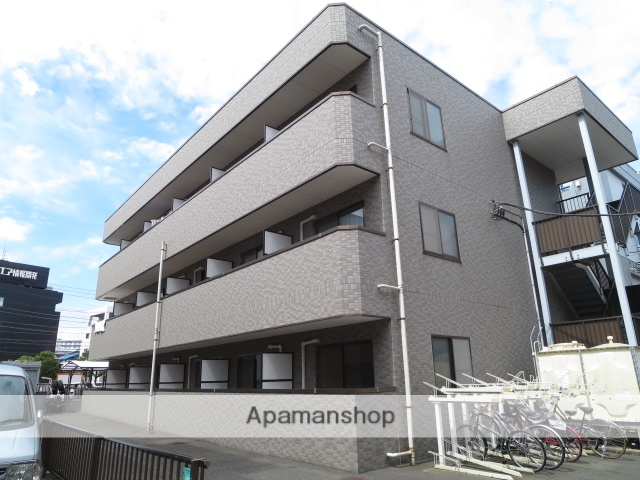 東京都江戸川区、西葛西駅徒歩12分の築18年 3階建の賃貸マンション