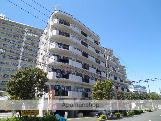 東京都江戸川区、西葛西駅徒歩9分の築27年 7階建の賃貸マンション
