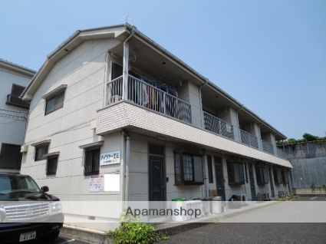 東京都江戸川区、葛西駅徒歩12分の築22年 2階建の賃貸テラスハウス