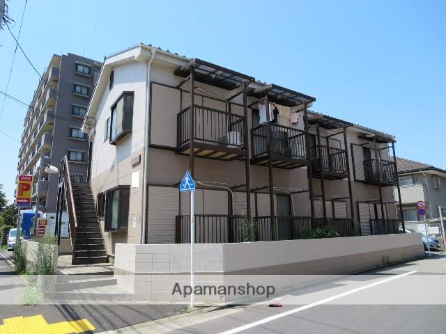 東京都江戸川区、葛西臨海公園駅徒歩26分の築23年 2階建の賃貸アパート