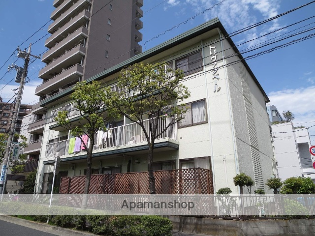 東京都江戸川区、西葛西駅徒歩3分の築32年 3階建の賃貸マンション