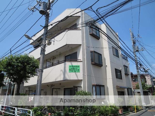 東京都江戸川区、西葛西駅徒歩15分の築24年 3階建の賃貸マンション