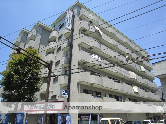 東京都江戸川区、西葛西駅徒歩12分の築25年 7階建の賃貸マンション