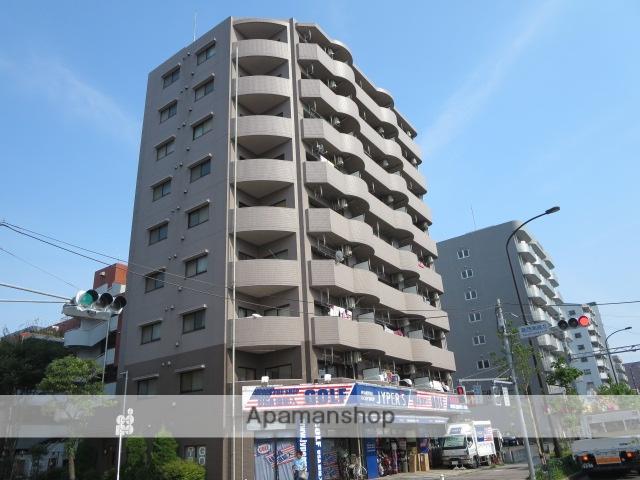 東京都江戸川区、葛西駅徒歩14分の築18年 9階建の賃貸マンション