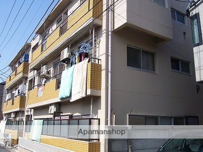 東京都大田区、久が原駅徒歩14分の築39年 3階建の賃貸マンション