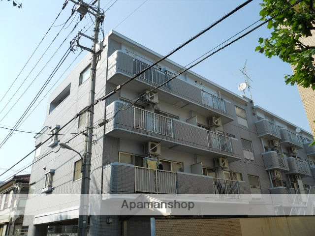 東京都大田区、久が原駅徒歩12分の築25年 4階建の賃貸マンション