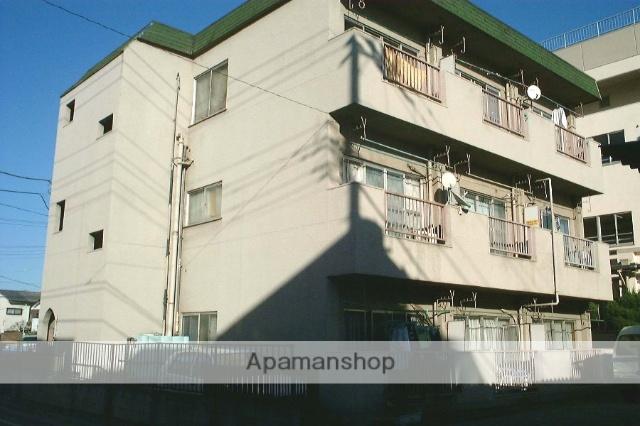東京都足立区、竹ノ塚駅徒歩12分の築36年 3階建の賃貸マンション