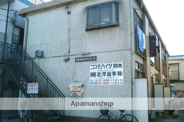 東京都足立区、西新井駅国際興業バス20分鹿浜下車後徒歩3分の築30年 2階建の賃貸アパート