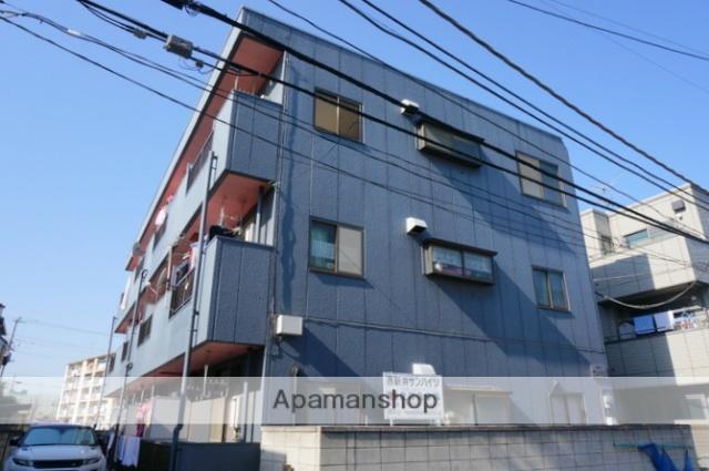 東京都足立区、西新井駅徒歩19分の築30年 3階建の賃貸マンション