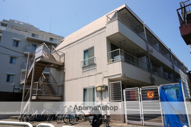 東京都足立区、高野駅徒歩12分の築30年 3階建の賃貸マンション