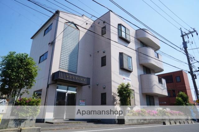 東京都足立区、扇大橋駅徒歩15分の築23年 3階建の賃貸マンション