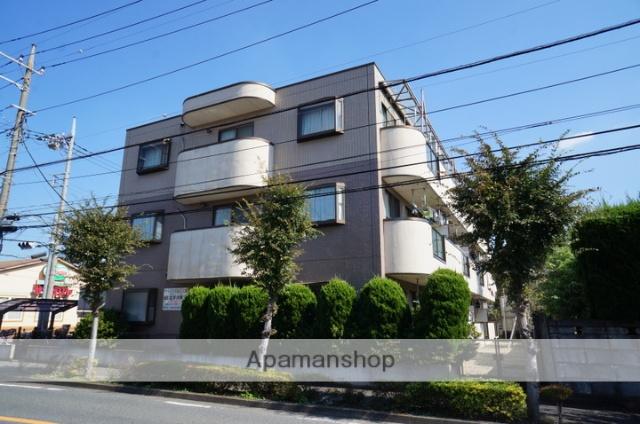 東京都足立区、竹ノ塚駅徒歩16分の築24年 3階建の賃貸マンション