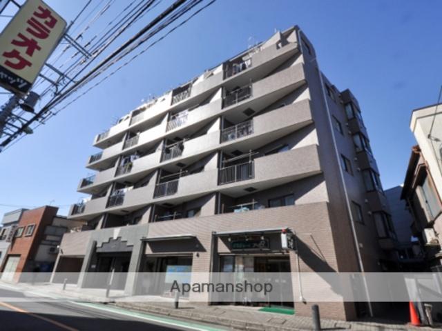 東京都足立区、大師前駅徒歩5分の築23年 8階建の賃貸マンション