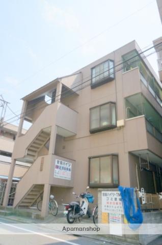 東京都足立区、大師前駅徒歩9分の築24年 3階建の賃貸マンション