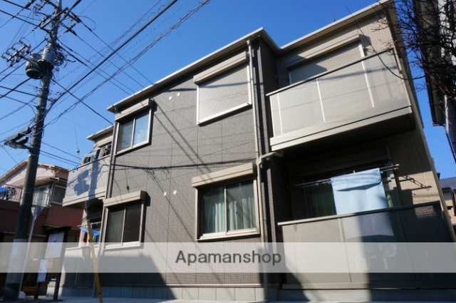 東京都足立区、西新井駅徒歩16分の築4年 2階建の賃貸アパート