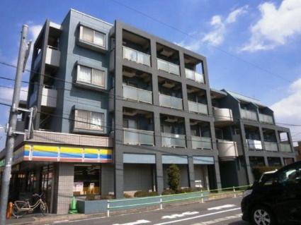 東京都調布市、千歳烏山駅徒歩24分の築15年 4階建の賃貸マンション