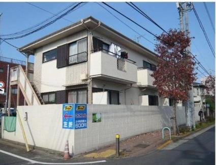 東京都世田谷区、千歳烏山駅徒歩10分の築30年 2階建の賃貸アパート