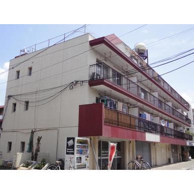 東京都世田谷区、仙川駅徒歩9分の築40年 4階建の賃貸マンション