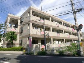 東京都調布市、千歳烏山駅徒歩21分の築22年 3階建の賃貸マンション