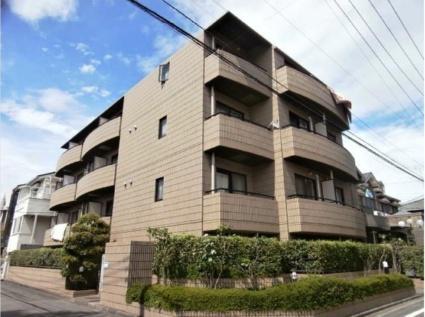 東京都調布市、仙川駅徒歩2分の築23年 4階建の賃貸マンション