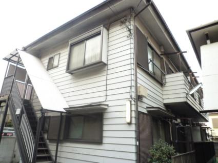 東京都調布市、仙川駅徒歩1分の築30年 2階建の賃貸アパート
